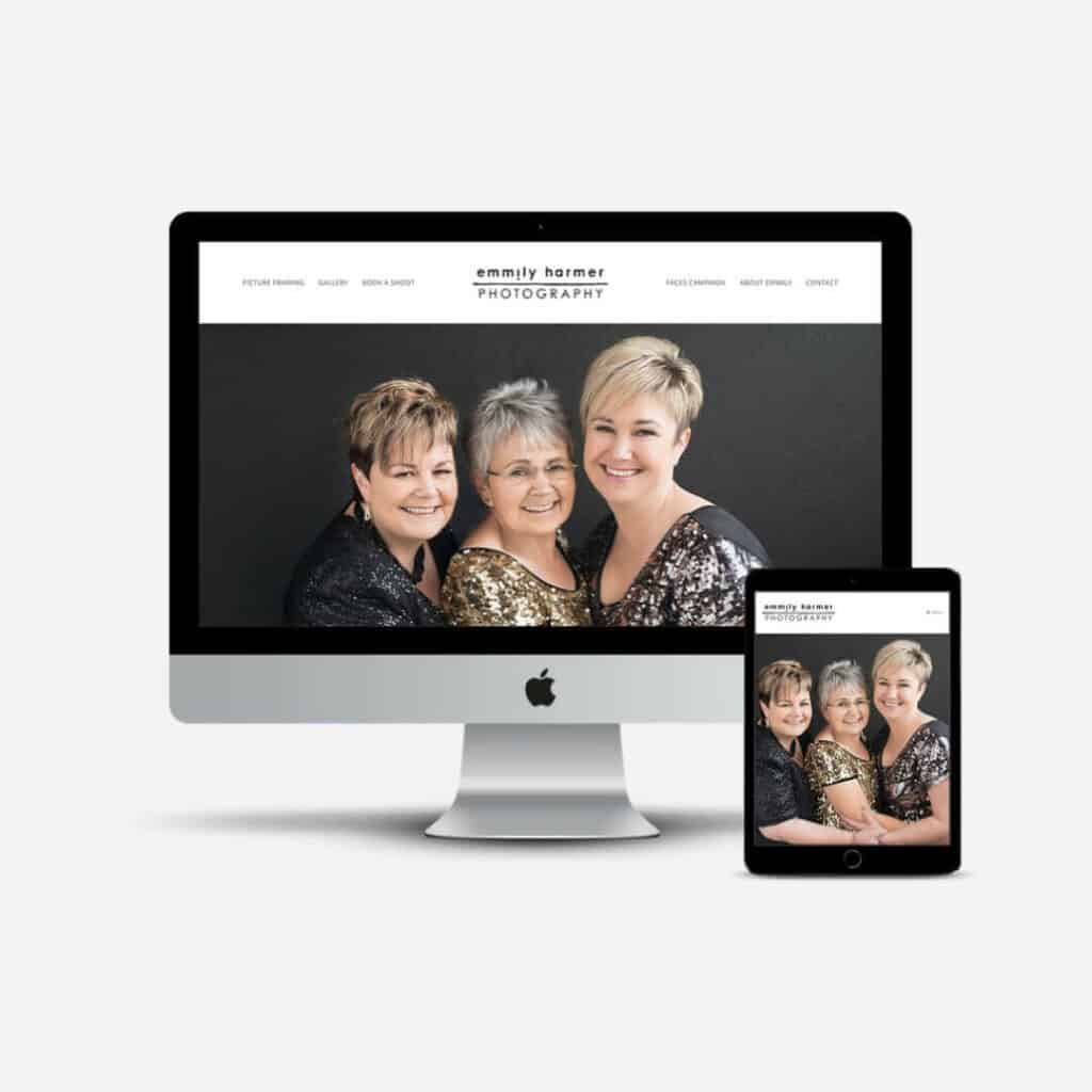 Emmily Harmer Website apreview